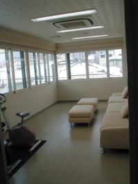 1階には阿久津内科ケアセンターがあります。